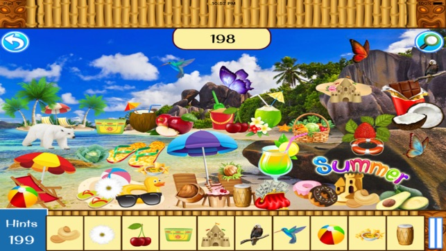 Hidden Objects Summer Beach Party On The App Store