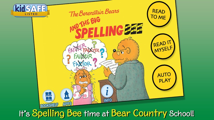 The Berenstain Bears and the Big Spelling Bee screenshot-0
