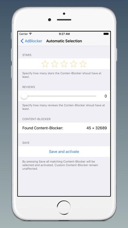 AdBlocker for Safari!