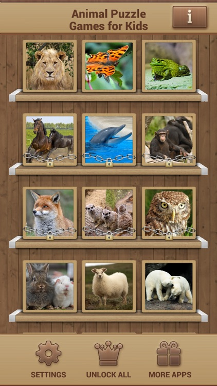 Animal Puzzle Games - Fun Jigsaw Puzzles screenshot-1
