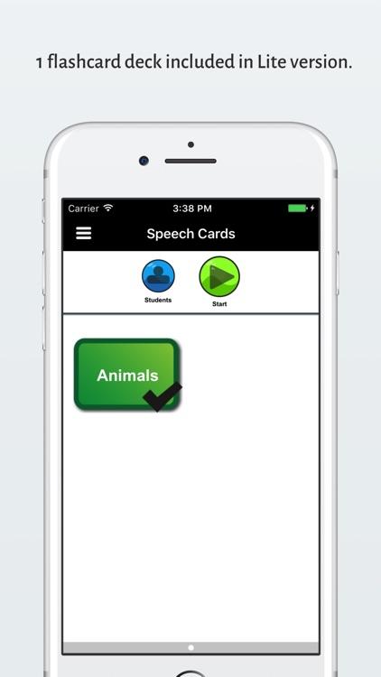 Speech Cards Lite screenshot-4
