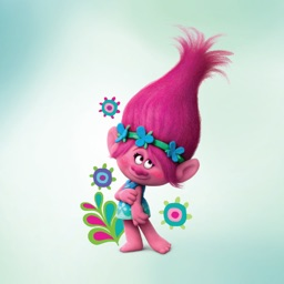 DreamWorks Trolls 3D Animated Stickers