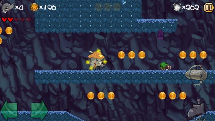 Super Bird Adv. - Old school platformer game