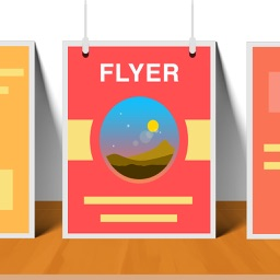 Flyers Creator - Print or Create Poster & Leaflet
