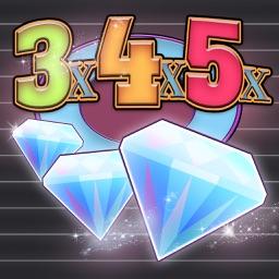 Slots - 3x4x5x Diamonds