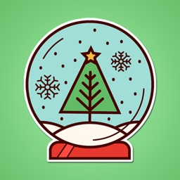 Winter Holiday Icons Sticker Pack