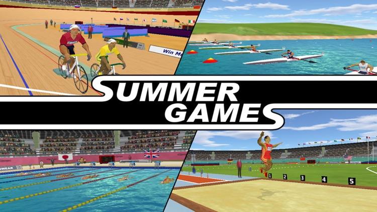 Summer Games 3D screenshot-4