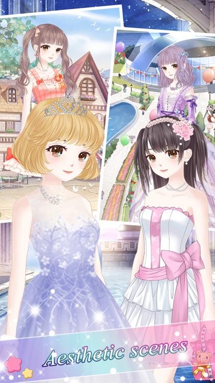 Snow princess fashion dress - Costume Dress Up screenshot-3