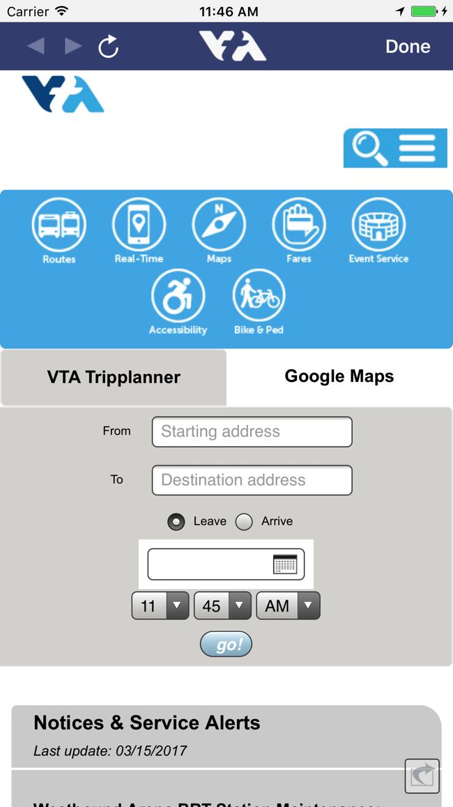 VTAlerts Screenshot