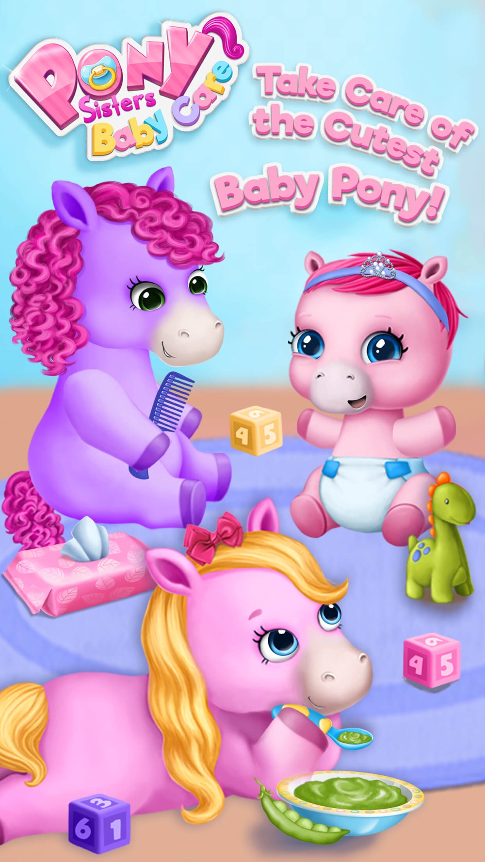 Pony Sisters Baby Horse Care – Babysitter Daycare Cheat Codes