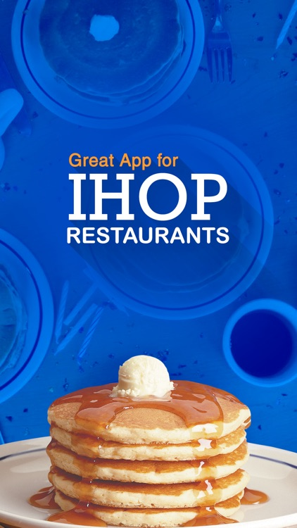 Great App for IHOP Restaurants