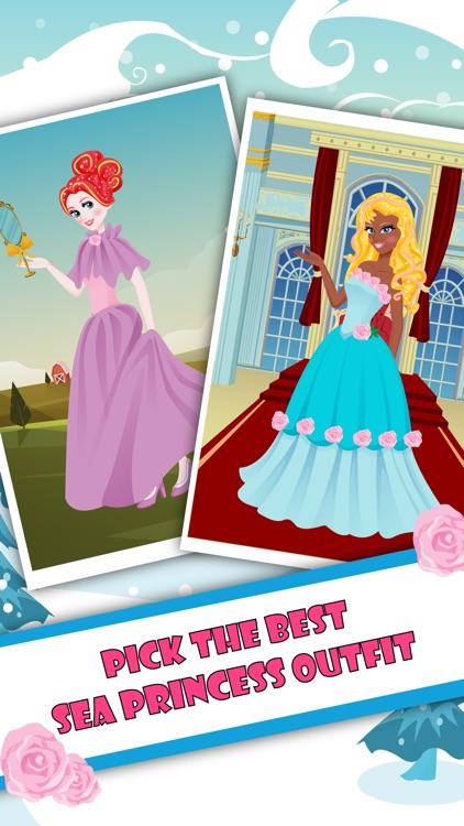Sea Princess Dress Up - My Queen Girls Ocean