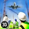 市飞机场建造游戏3D