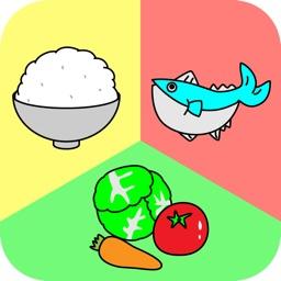 食育の授業 − 朝ごはん編 − 栄養バランスが学べる授業アプリ