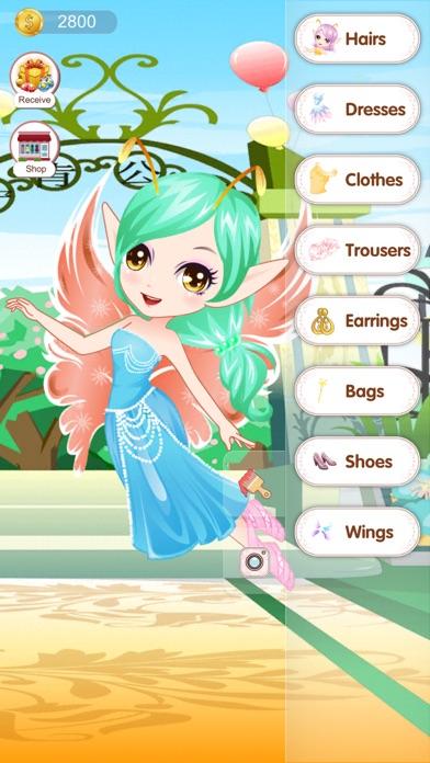Fantasy Elf Princess- fun makeover games for kids screenshot four