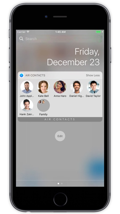 Air Contacts Pro - Quickly Call and Text Widget screenshot-3