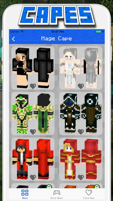 Cape Skins for Minecraft PE - Pocket Edition Screenshot