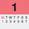 ISO+US week numbers with widget