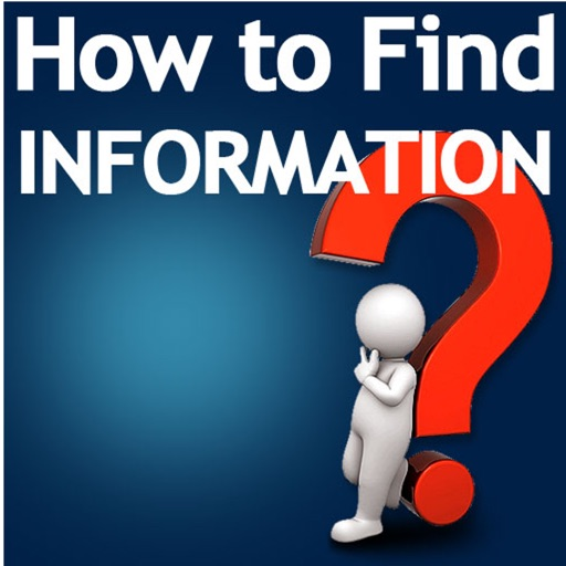 How to Find Information