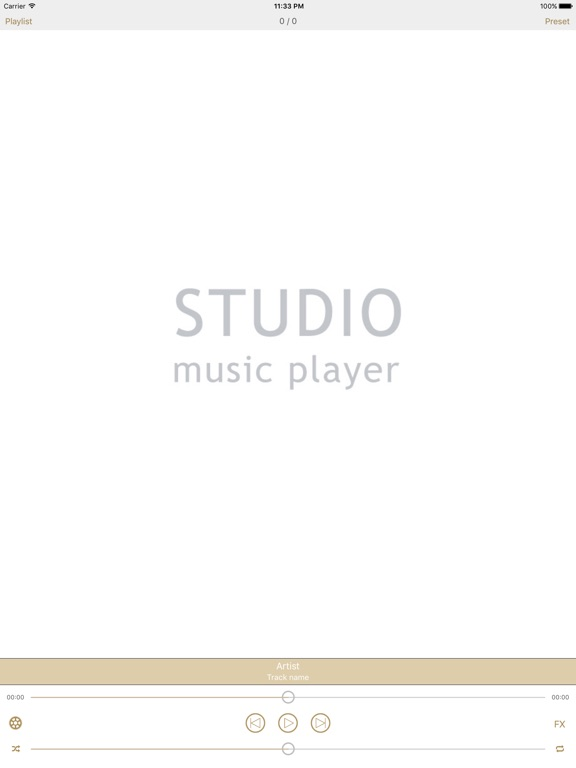 Screenshot #3 for Studio Music Player | 48 bands equalizer for pro's