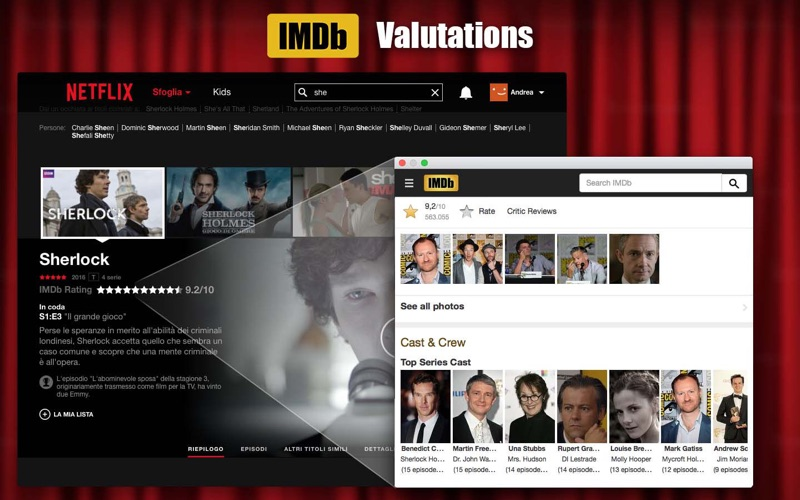 Screenshot #2 pour Cinema for Netflix