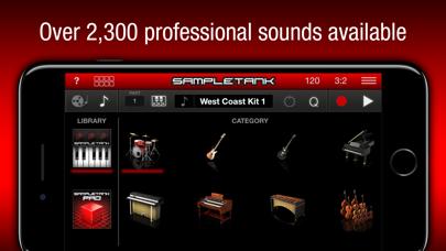 Screenshot #1 pour SampleTank CS