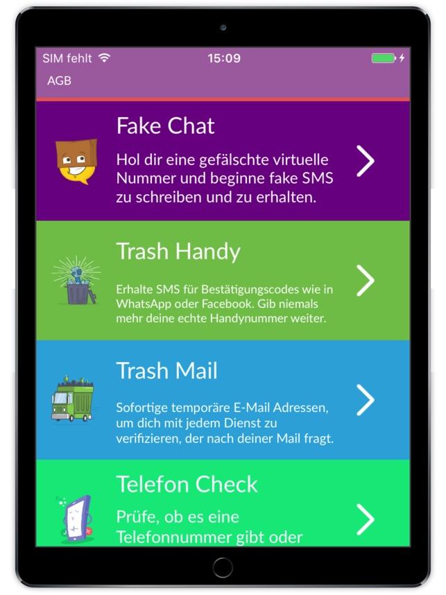 Fake handynummer für whatsapp