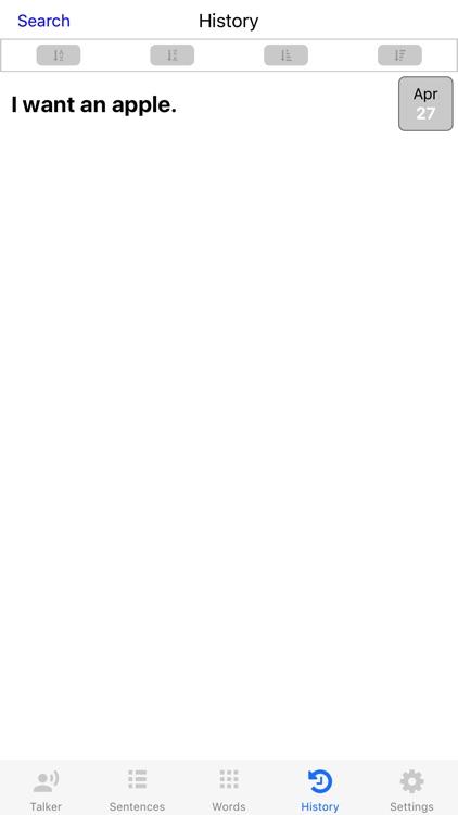 VisualTalker Lite - The Simplest AAC screenshot-4