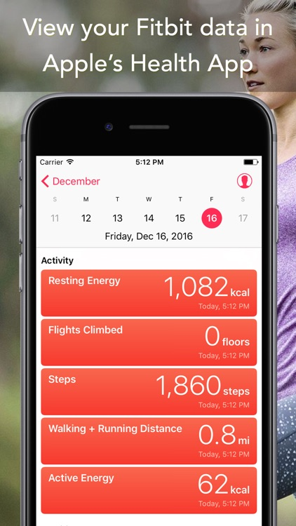 Sync for FitBit - Fitbit to Apple Health screenshot-4