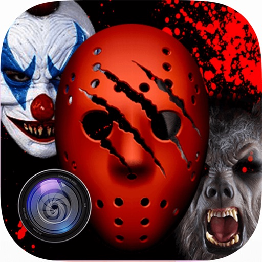 Scary Mask Photo Maker: Zombie Clown Edition iOS App