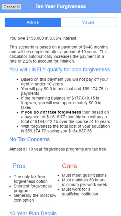 Student Loan Advisor