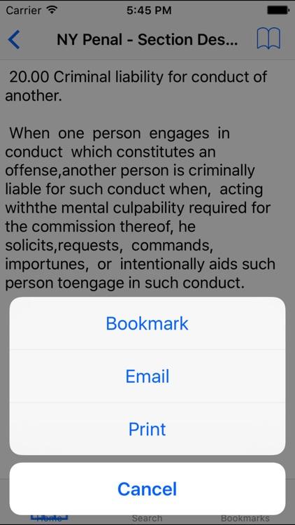 NY Penal Code screenshot-4