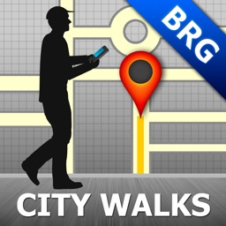 Brugge Map and Walks, Full Version