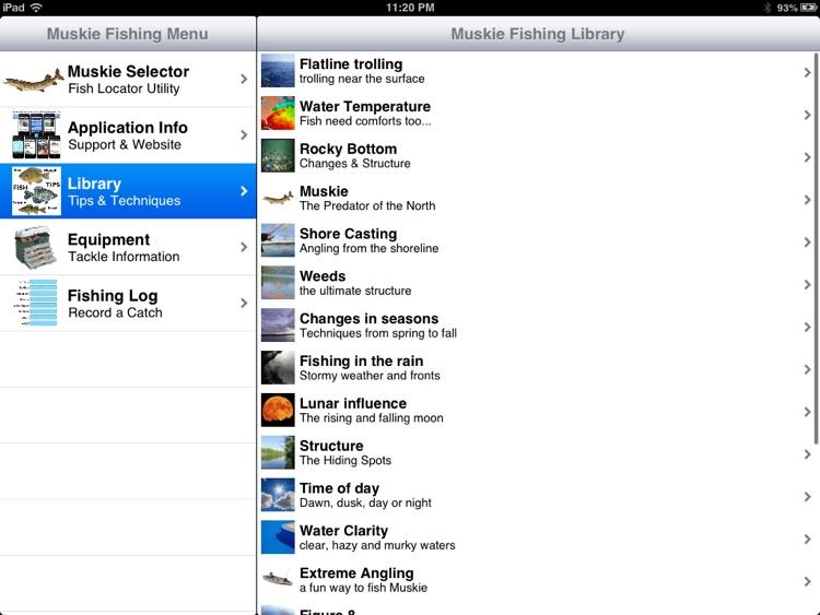 Muskie Fishing Pro screenshot-3