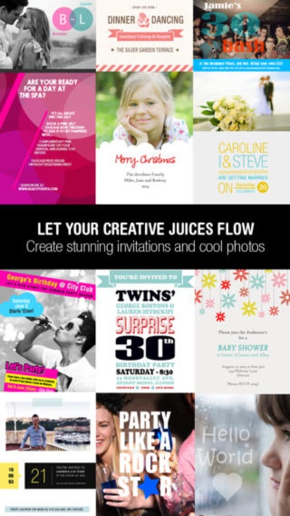 Graphic Design - Logo, Wedding Invites & Flyers