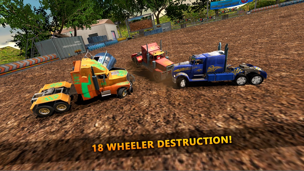 18 Wheeler Truck Crash Derby hack tool