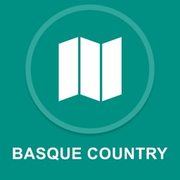 Basque Country, Spain : Offline GPS Navigation