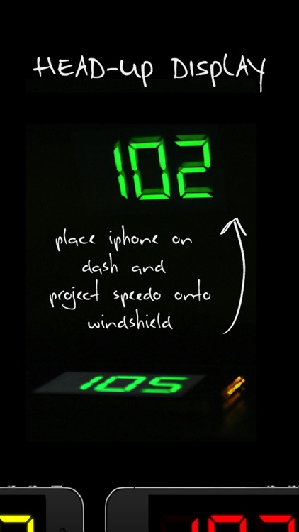 SpeedGlow Speedometer - Gesture Controlled Speedo screenshot-3