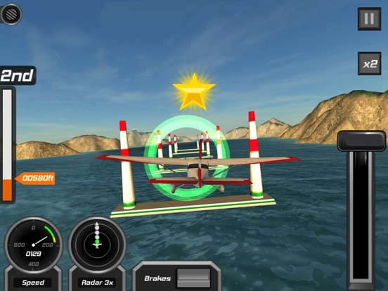 Игра Полет Пилот 3D
