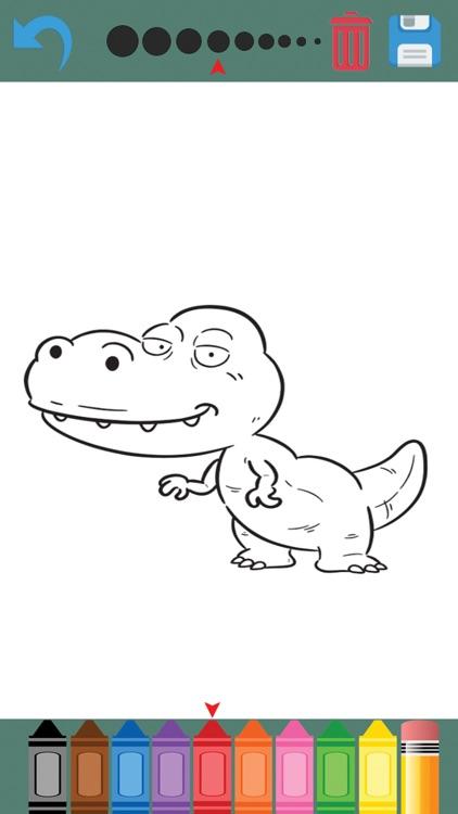 Dinosaur Coloring Book For Kids & Toddler screenshot-3