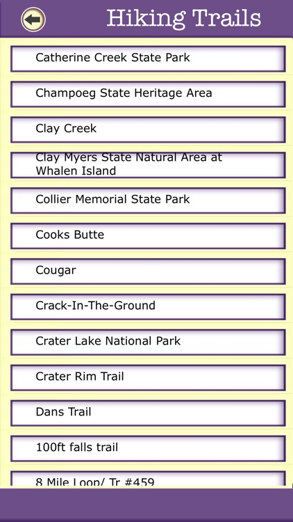 Oregon Campgrounds & Hiking Trails,State Parks screenshot-3
