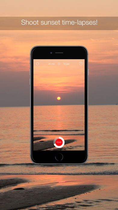 InstaSun — time-lapse sunsets! screenshot one