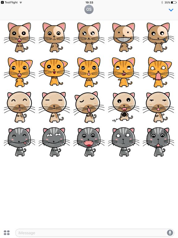 kitty Cat Stickers-ipad-0