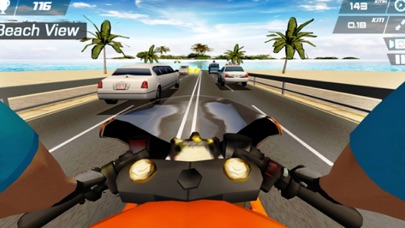 Off-Road Bike Racing screenshot one