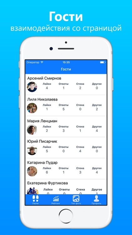 Гости из ВКонтакте - узнай, кто интересуется тобой
