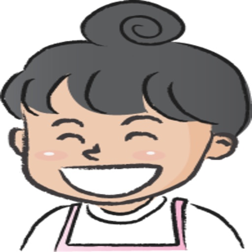 Pink Apron Girl stickers by wenpei