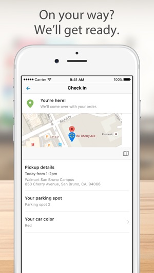 Walmart Grocery On The App Store - Free ms word invoice template walmart online shopping store pickup