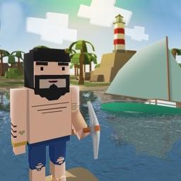 Blocky Island Survival 3D Full