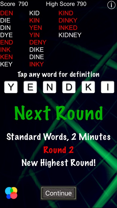 Word Warp - A Word Puzzle Game Скриншоты4