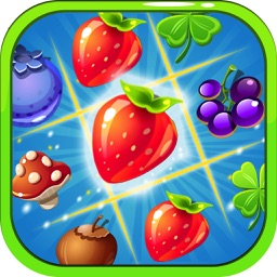 Fantasy Magical Forest - Match 3 Puzzle Game